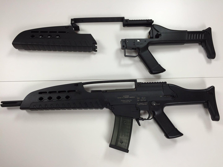 Sl8 to xm8 conversion kit rks plus for Portent g3 sl 8