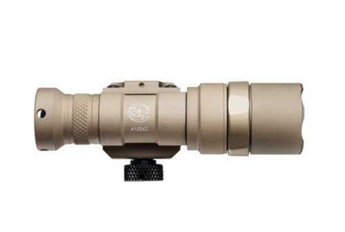 Surefire M300 Mini Scout Light Weapon Light LED with 1 CR123A Battery Aluminum Tan