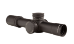 AccuPower® 1-8x28 Riflescope MIL Segmented Circle Crosshair w/Red LED, 34mm Tube