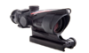 Trijicon ACOG 4x32 Scope, Dual Illuminated Red Crosshair 300 BLK Reticle w/ TA51 Mount