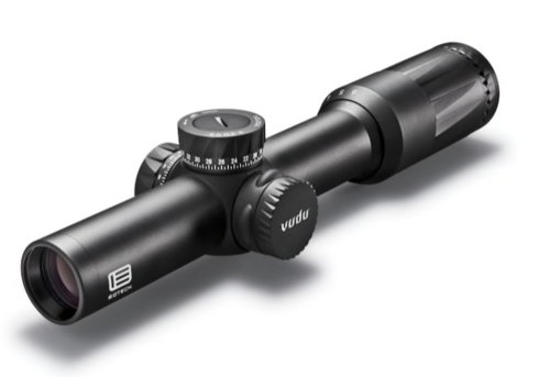 Razor HD EOTech Vudu Rifle Scope 30mm Tube 1-6x 24mm First Focal Illuminated SR-3 Reticle Black